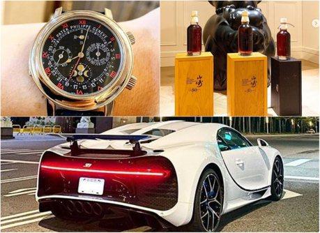 台灣首輛山豬王車主大有來頭?Bugatti Chiron Sport配7千萬腕錶加1千萬好酒盡顯豪奢!