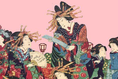 浮世繪裡的女性形象(上):「美人繪」,重現江戶紅燈區的繁花盛景