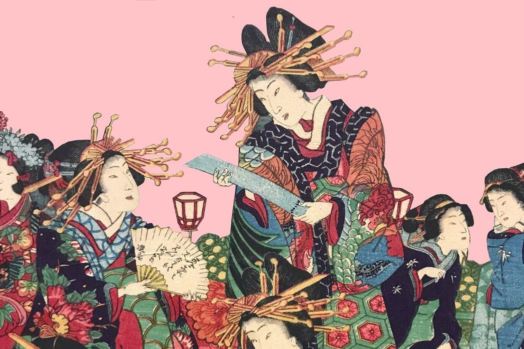 舊香居「藝空間」以近代東西方文化交流的視野為題,策畫「紙尚魅影——19th~20th女性的想像與追求」展覽。 圖/作者提供