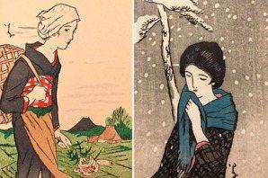浮世繪裡的女性形象(下):「夢二女郎」,竹久夢二的紙尚魅影