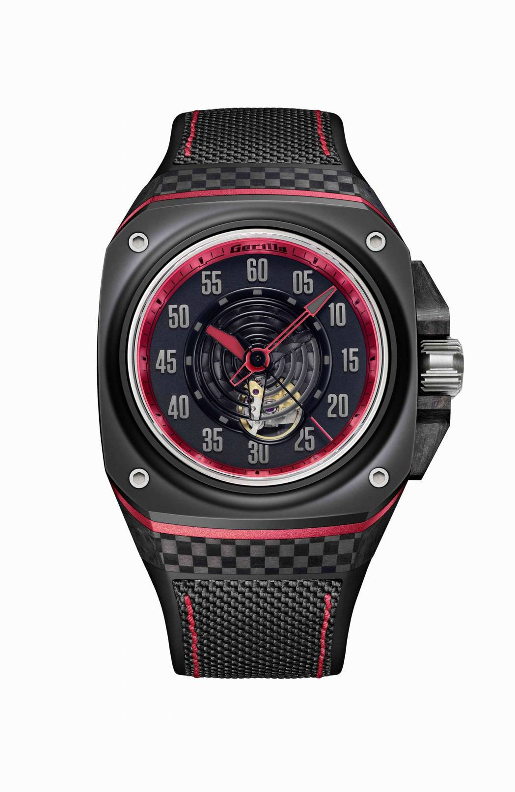 Gorilla Fastback GT Spectre大三針腕錶,建議售價NTD...