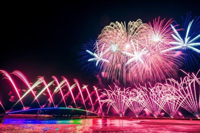 澎湖國際花火節。 圖/Flickr