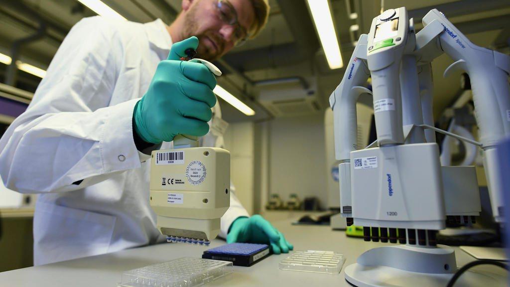 德國疫苗研發公司CureVac。 路透