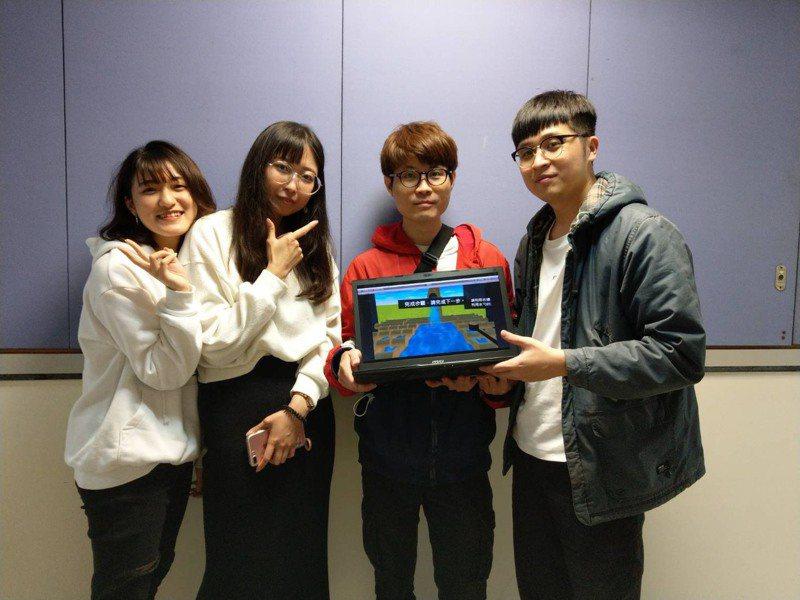 元智大學資傳系師生和應用外語系合作,建構VR實境日本文化語言情境軟硬體,防疫期間不出國也可以深度學習。圖/元智大學提供
