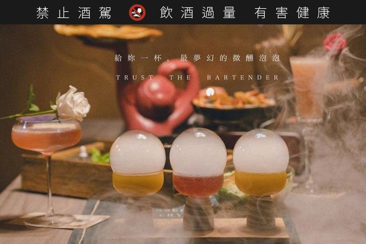 圖/She_Design -Tapas Soju Bar※ 提醒您:禁止酒駕,飲...