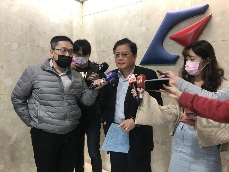 商總副理事長許舒博。/記者黃有容/攝影
