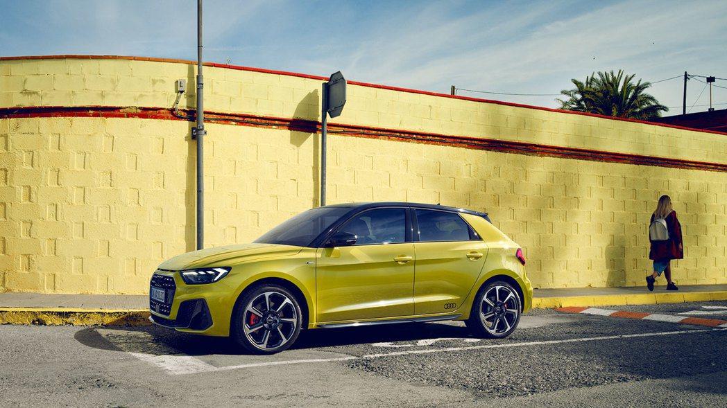 台灣奧迪公布全新Audi A1 Sportback完整預售規格配備資訊。 圖/台...