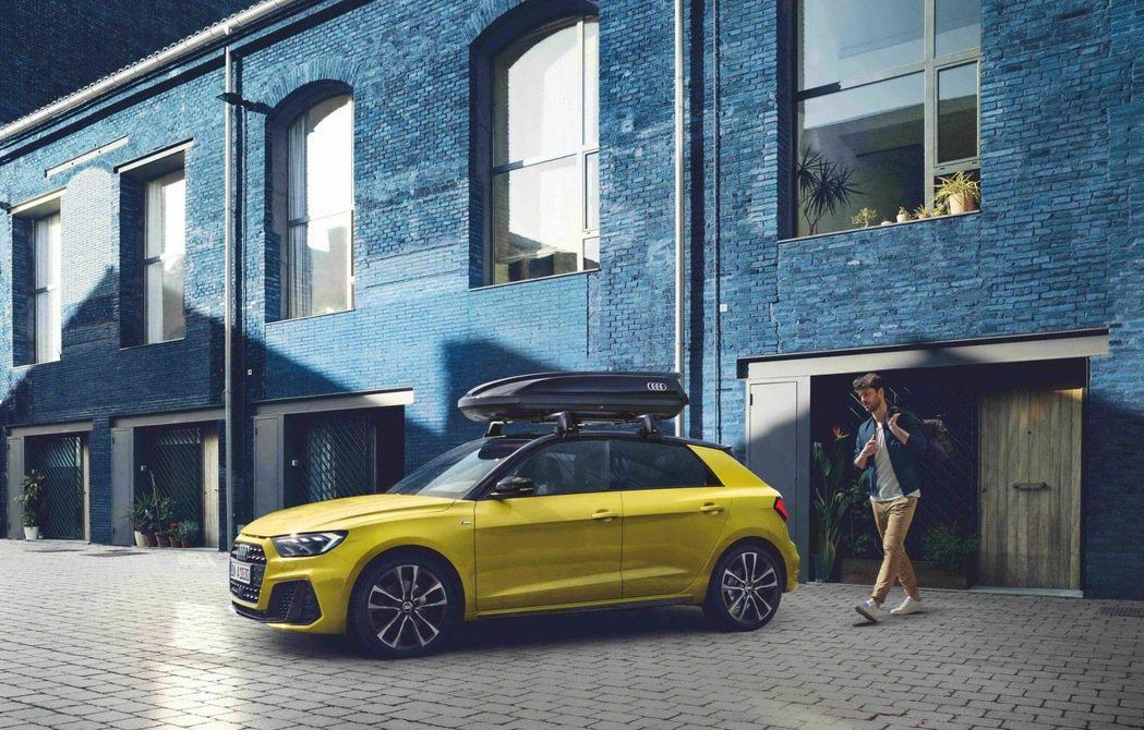 新一代Audi A1 Sportback擁有自信優雅的身形,更添增狂野性格。 圖...