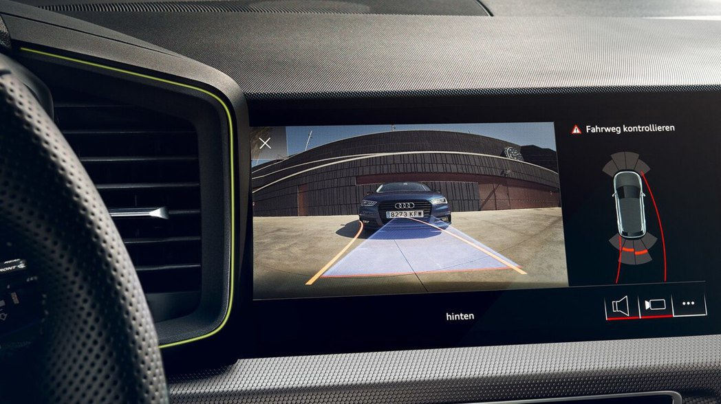 Audi A1 Sportback 亦搭載多項智慧科技配備。 圖/台灣奧迪提供