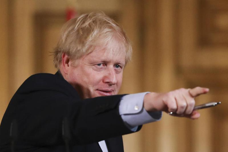 英國首相強森。 圖/歐新社