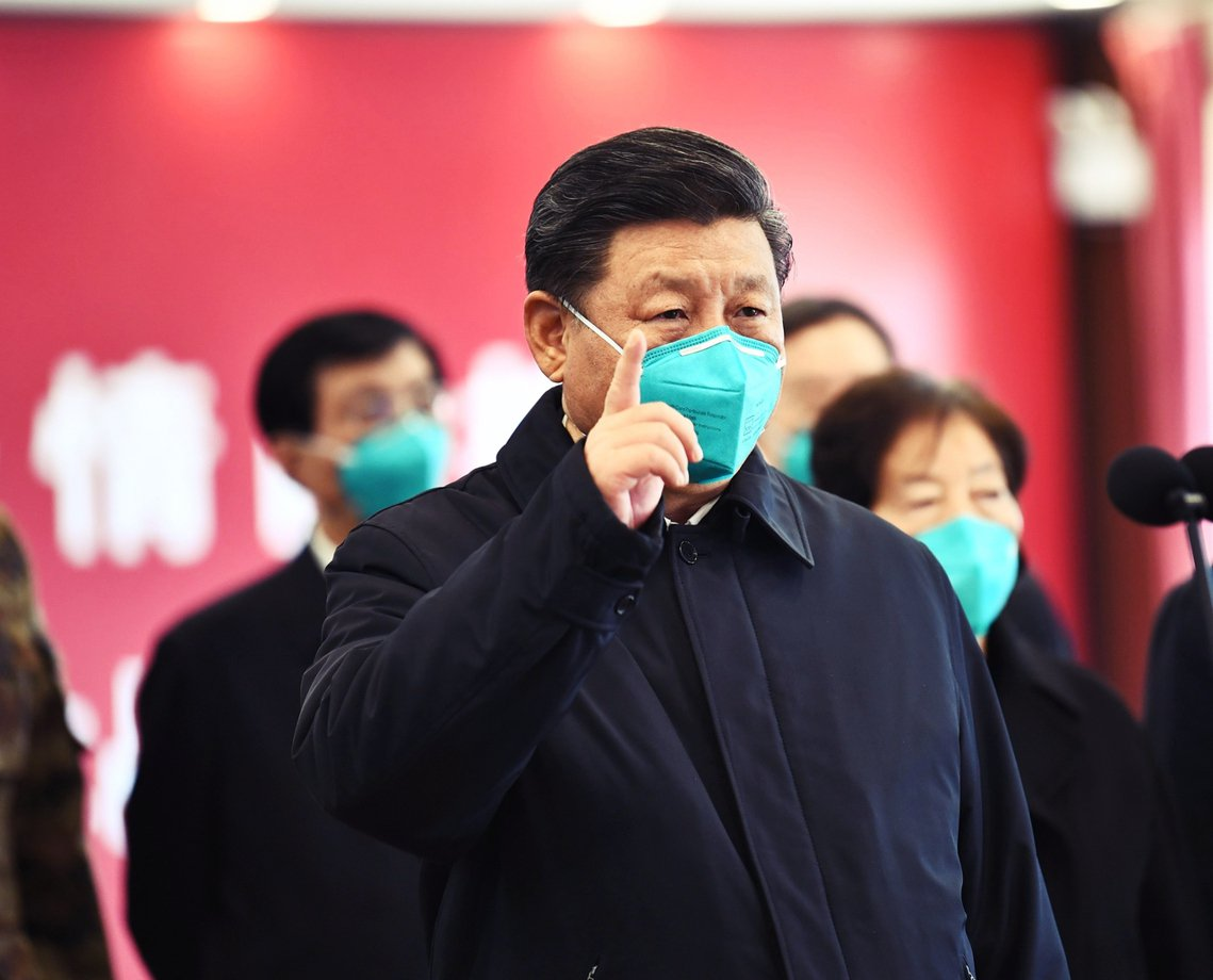 加上中國病毒的引爆網路爭議,一時之間反而刺激了中國的「大外宣」氣勢。圖為中國國家...