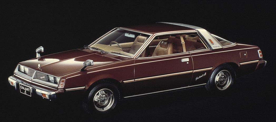 Mitsubishi GalantΛ(Lambda)。 摘自Mitsubishi