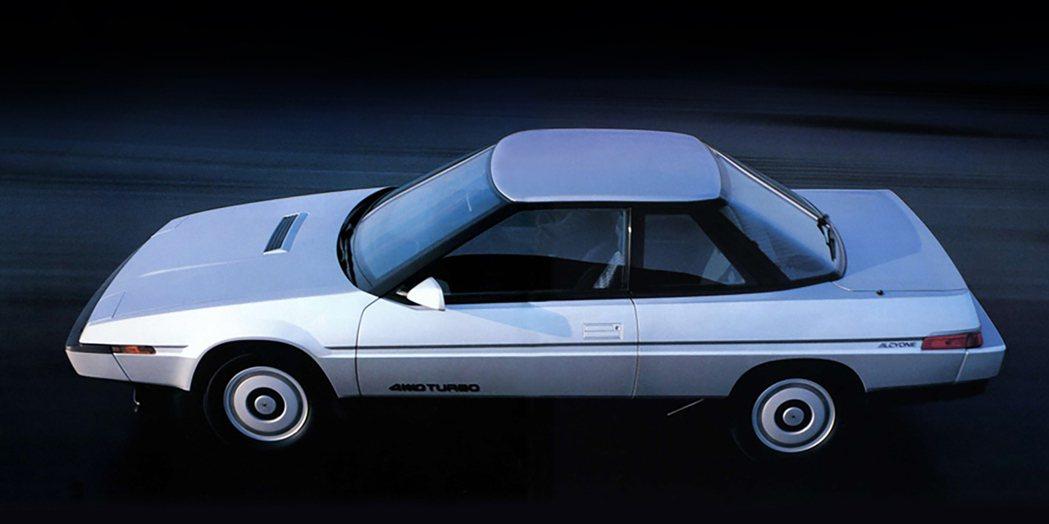 Subaru Alcyone。 摘自Subaru