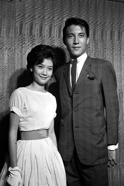 1963年,柯俊雄(右)入選為香港國際電懋公司的演員。 圖/聯合報系資料照