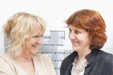 愛爾蘭建築師法瑞爾(Yvonne Farrell)與麥納瑪拉(Shelley M...