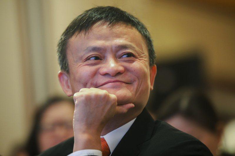 中國億萬富翁、阿里巴巴創辦人馬雲。美聯社