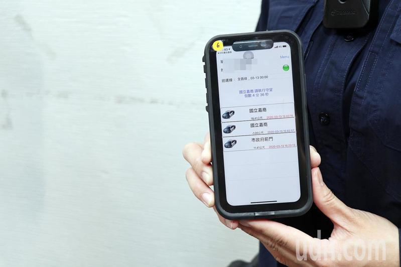 嘉義市警局明天將啟動全市773個「嘉e巡簽-智慧巡邏箱」,內含守望功能。記者李承穎/攝影