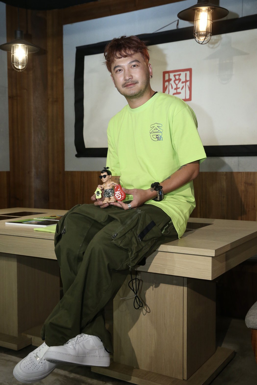 Kid回歸「玩很大」。記者林俊良/攝影