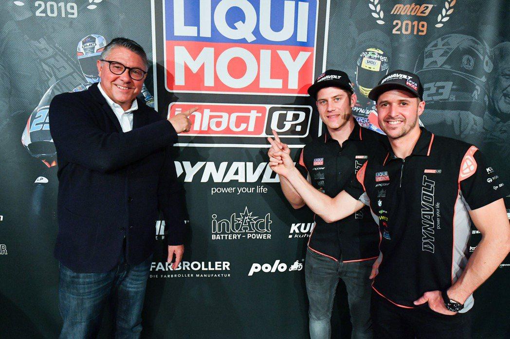 LIQUI MOLY行銷總監Peter Baumann(左1)、LIQUI ...