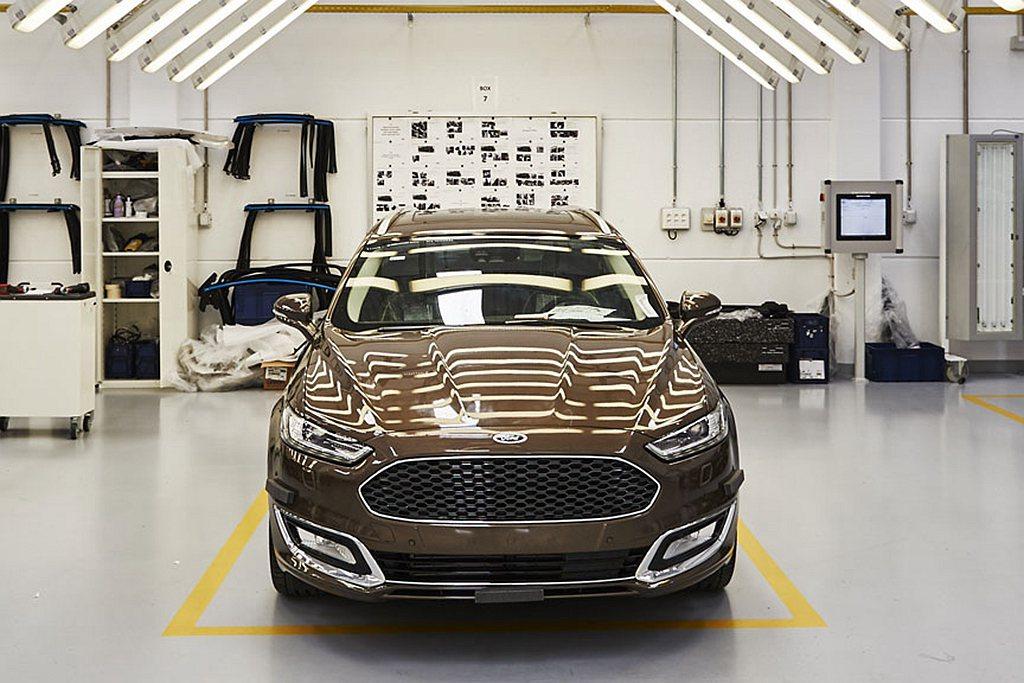 Ford汽車也馬上宣布自周四起歐洲主要新車生產基地與引擎組裝廠暫停作業。 圖/F...