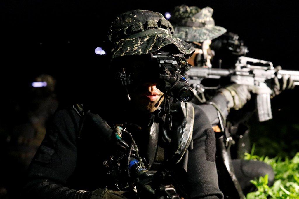 精簡兵力打造專業部隊,是未來高科技戰爭下的潮流,台灣並不是特例。 圖/路透社