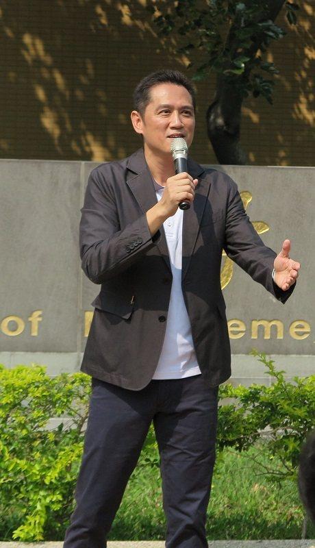 中興大學管理學院副院長林明宏。 蔣佳璘/攝影