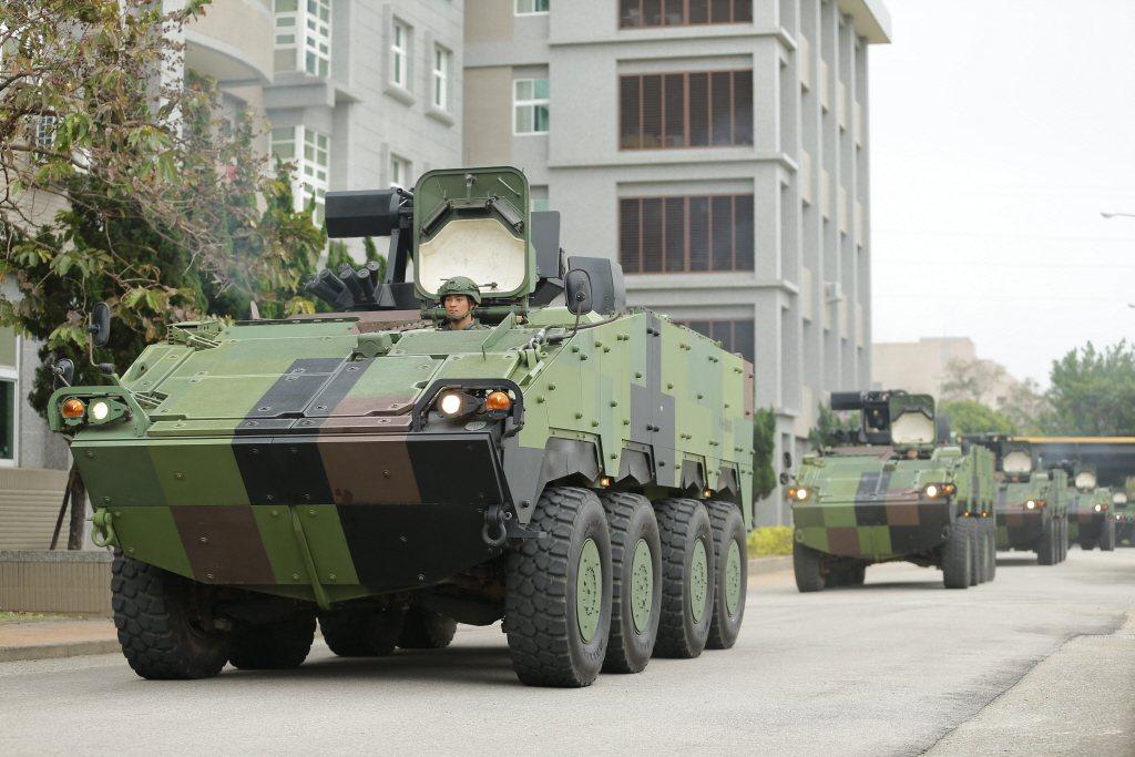 陸軍雲豹裝甲車。 圖/軍聞攝