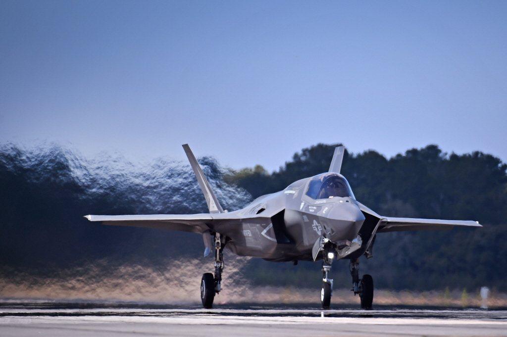 美空軍F-35戰機。 圖/法新社
