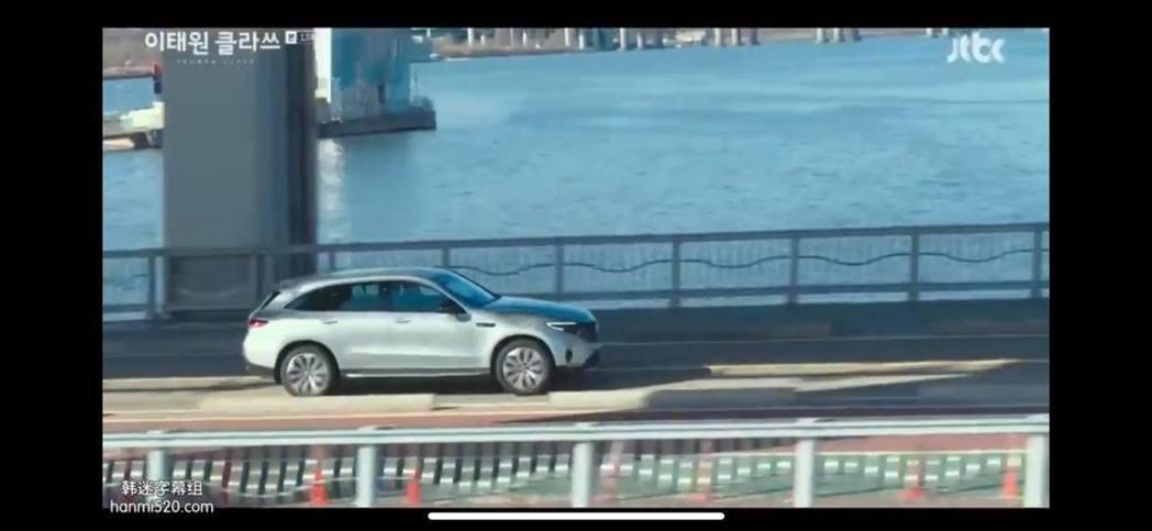 Mercedes-Benz旗下首輛電動車款EQC出現在當紅韓劇《梨泰院 Clas...