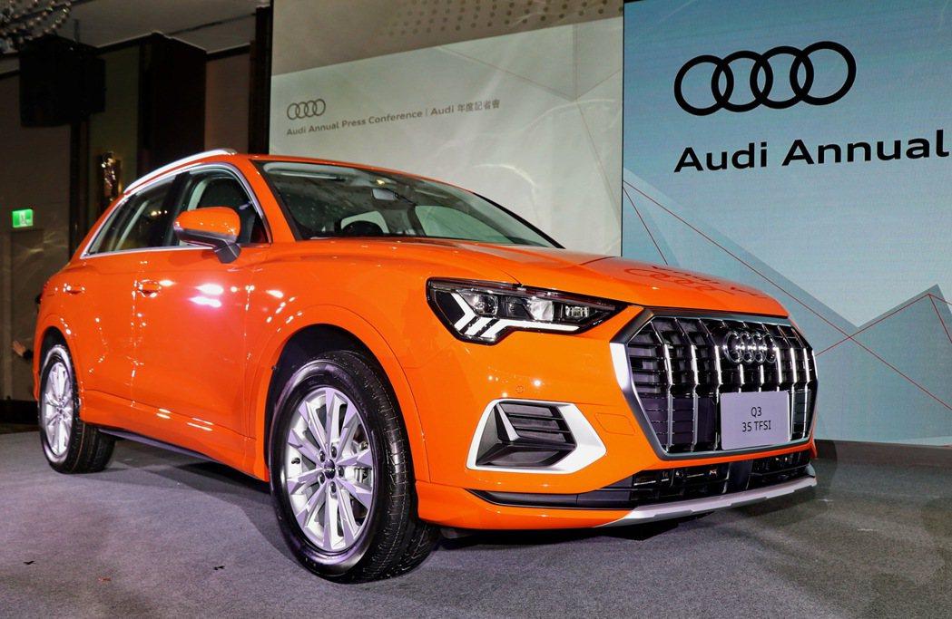 全新世代Audi Q3。 記者陳威任/攝影