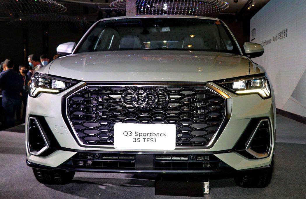台灣奧迪更宣佈導入Audi Q3 Sportback,為Audi Q3車系增添產...