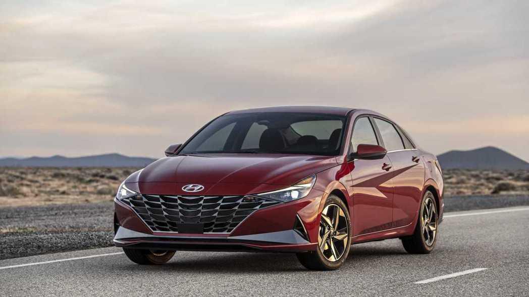 大改款Hyundai Elantra正式發表。 摘自Hyundai
