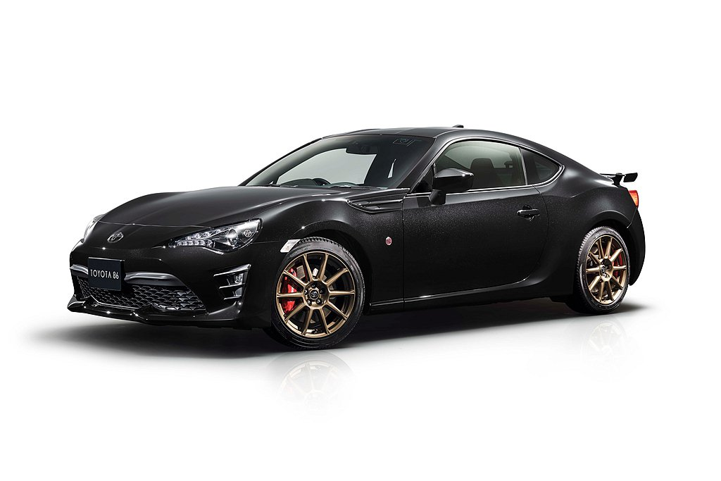 Toyota汽車於日本推出86 GT Black Limited限量特仕車。 圖...