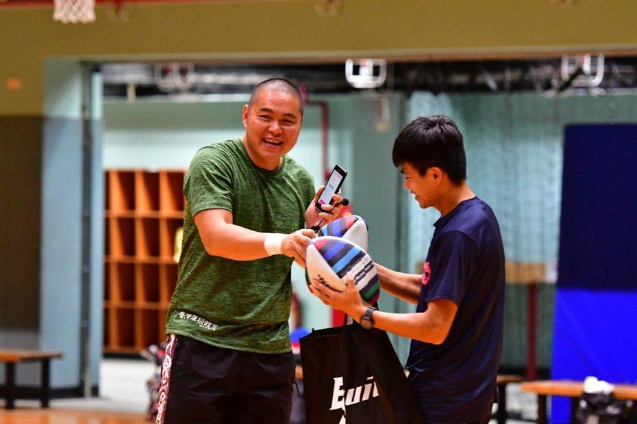 黃瀚揚對橄欖球情有獨鍾。 中華橄欖球協會提供