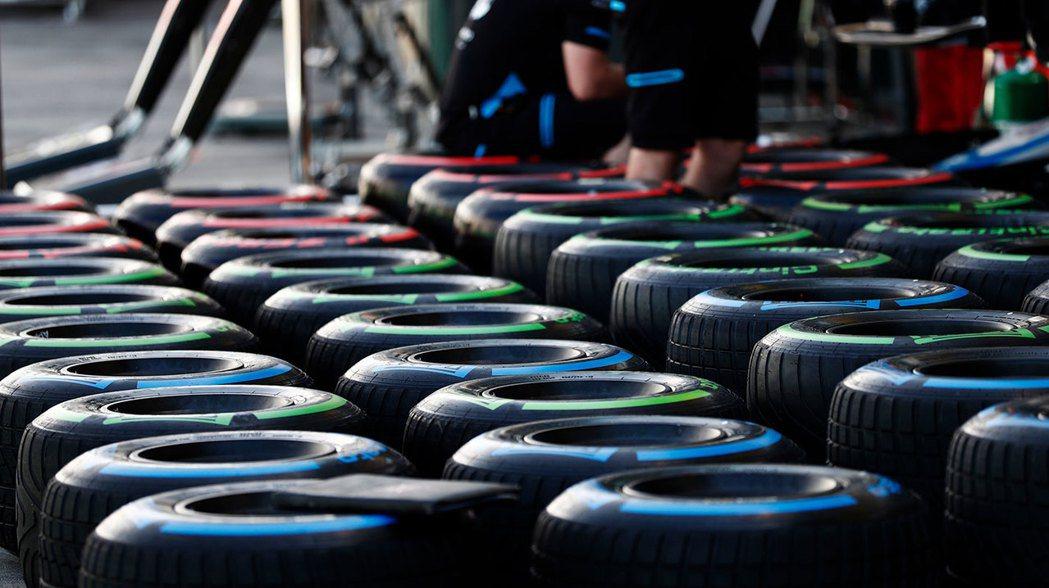 1800條F1輪胎必須報廢。 摘自F1