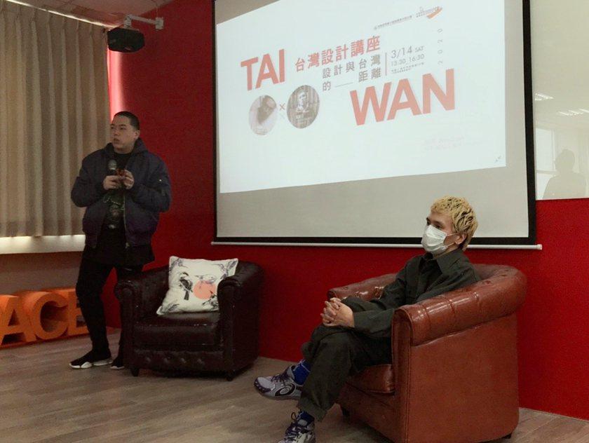 曾登上柏林時裝周而聲明大噪的設計師馬毅(左)與街頭潮襪品牌nozzle quiz...