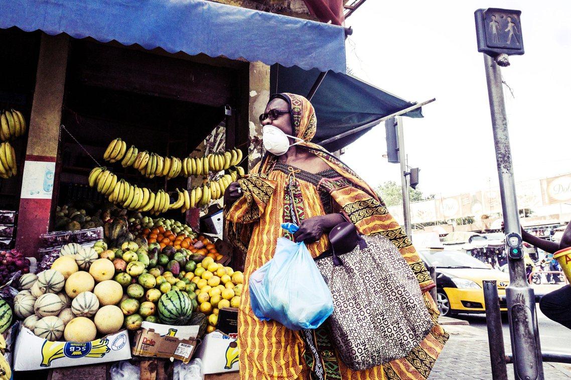 圖為塞內加爾的街頭。 圖/法新社