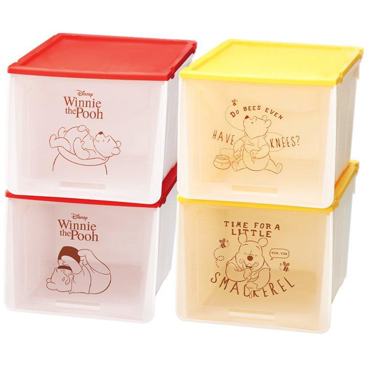7-ELEVEN將於3月25日上午11點起獨家首賣的小熊維尼款收納盒(一組2入)...