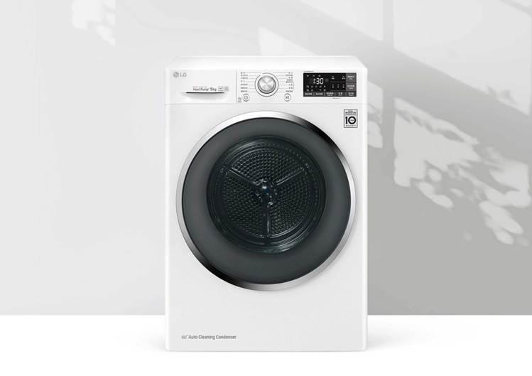 LG 9KG除溼式變頻免曬乾衣機WR-90TW,原價38900元、特價36888...