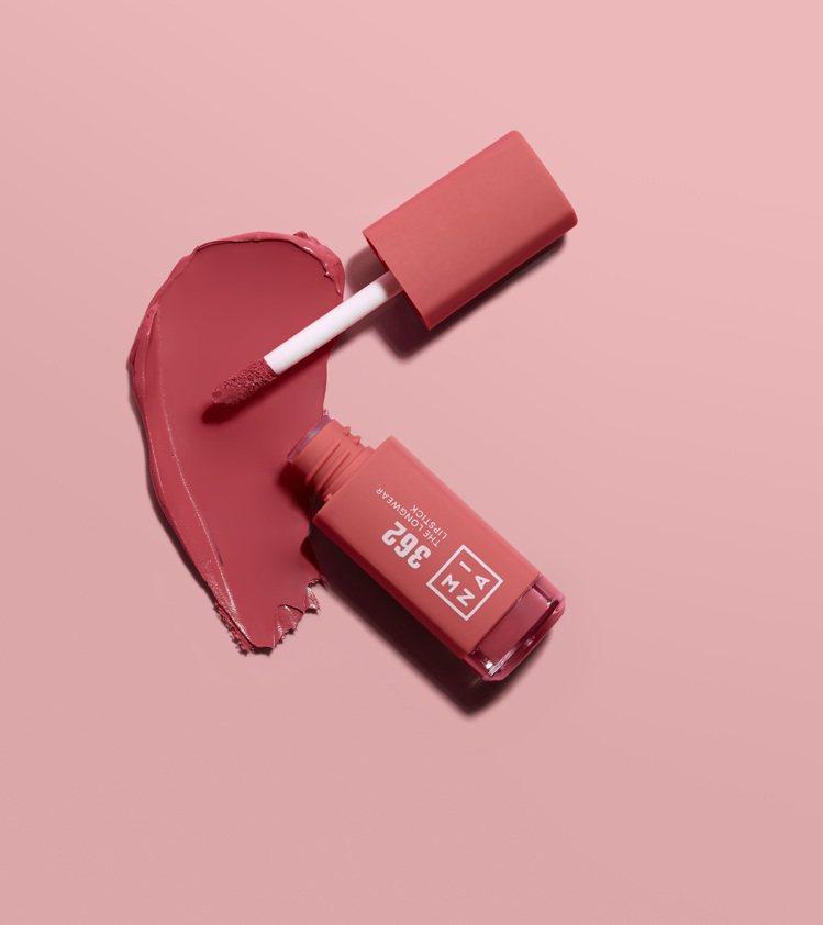 打造Baby雙唇的粉嫩櫻花色#362櫻花拿鐵,620元。圖/3INA提供