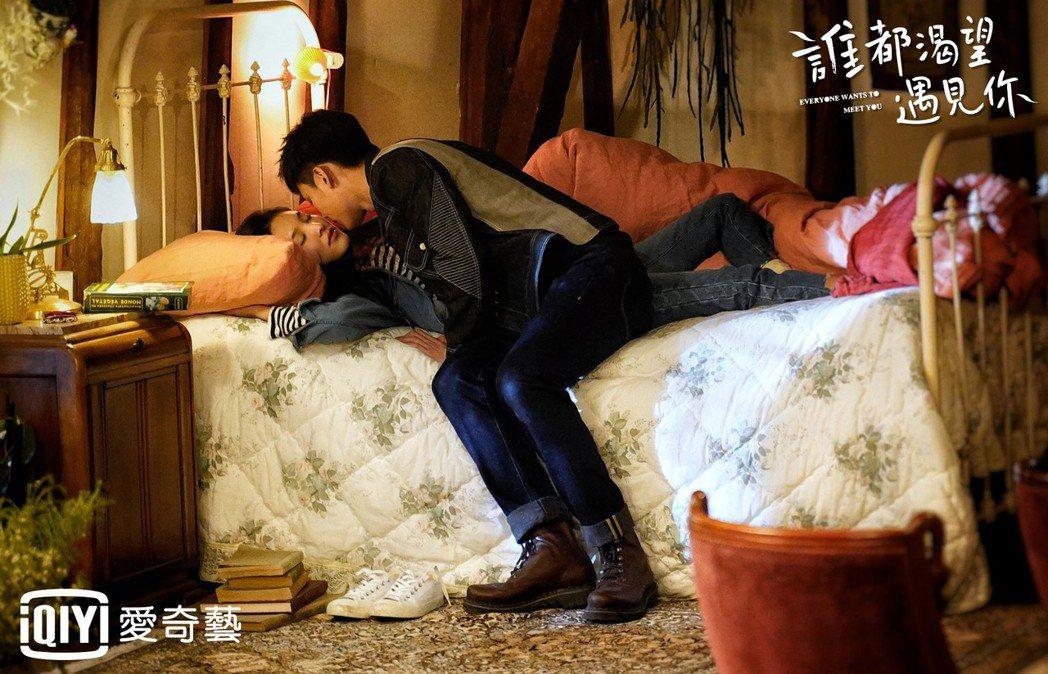 王以綸(右)劇中告白遭拒。圖/愛奇藝台灣站提供