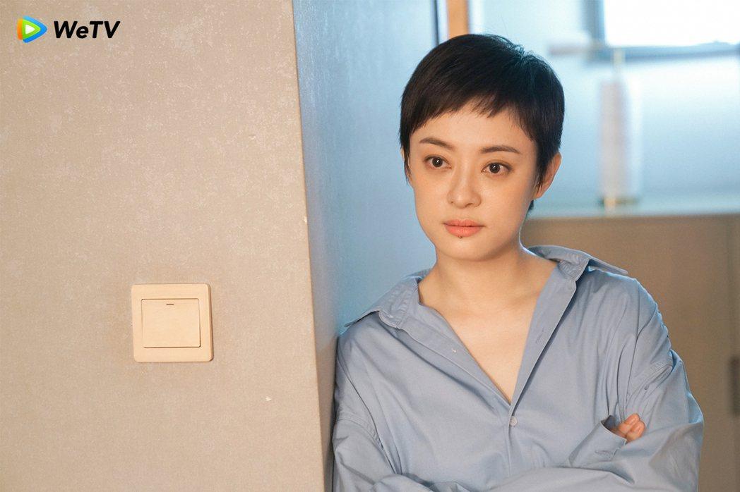 孫儷自認「安家」飾演角色與「甄嬛傳」不同。圖/WeTV提供