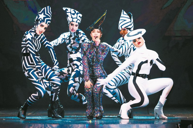 台北市近期修訂「娛樂稅徵收自治條例」草案,目前演唱會、魔術表演等,稅率皆為5%,未來根據票價,採分級稅率。圖為蔡依林演唱會。 圖/聯合報系資料照片