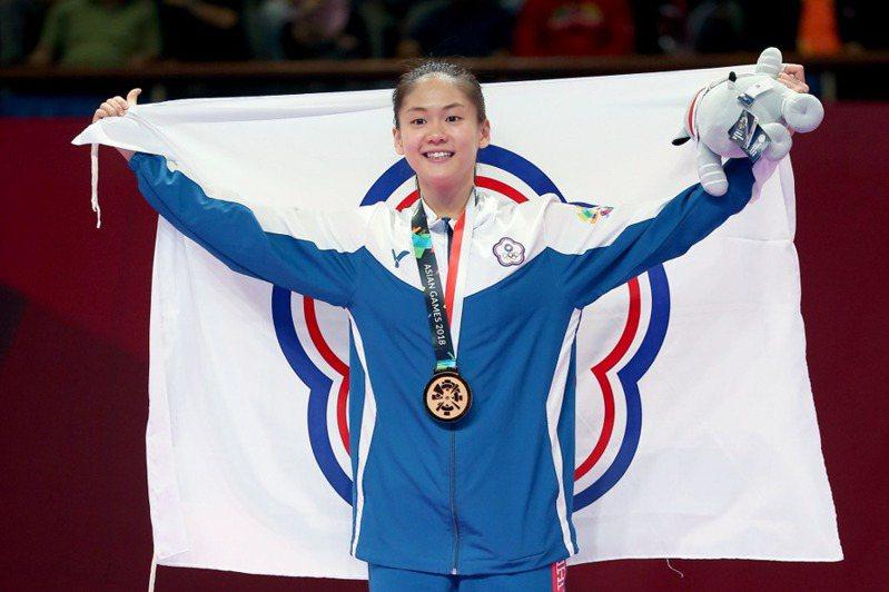 台灣空手道女將「小清新」文姿云確定拿下女子55公斤級空手道奧運門票。  聯合報系資料照