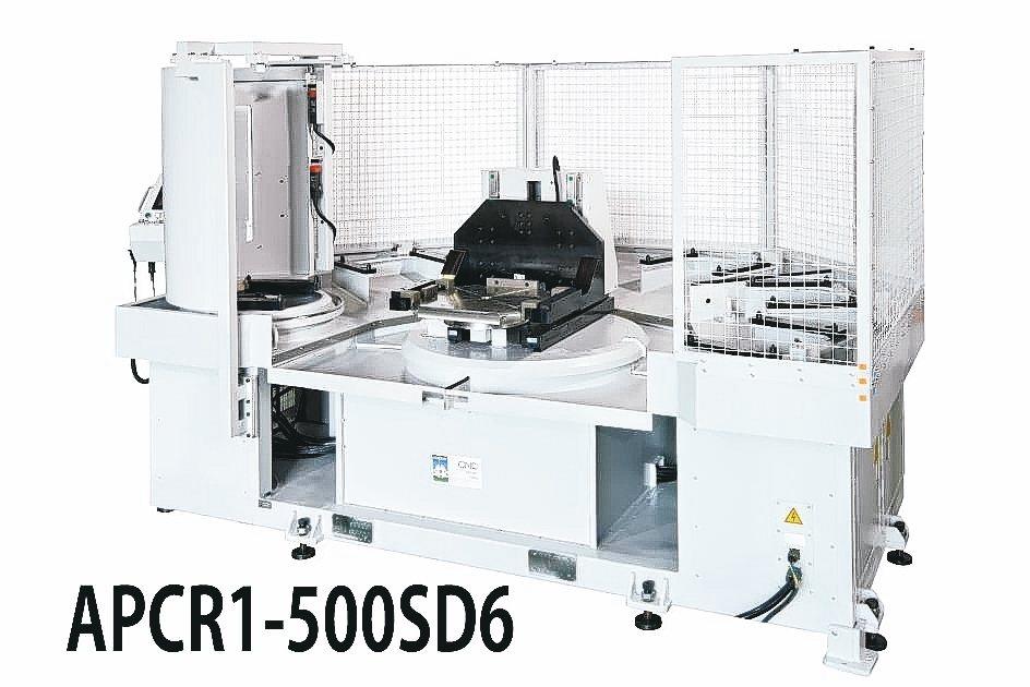 寶嘉誠PARKSON高效率彈性製造單元(FMS)APCRI-500SD6機型。 ...