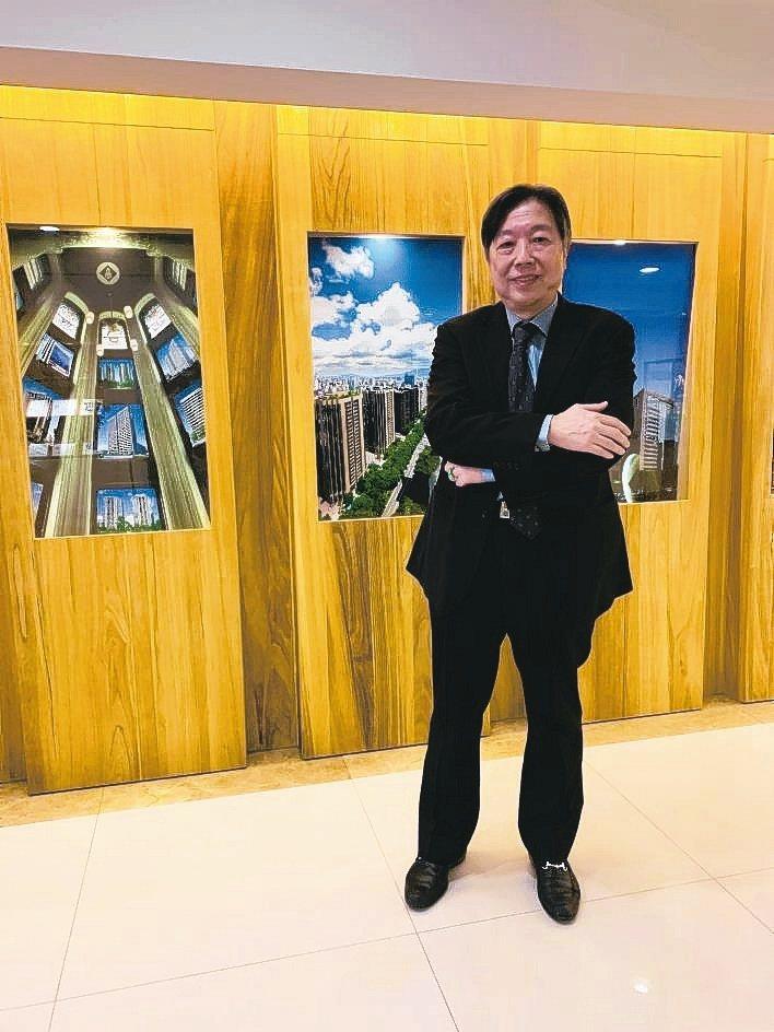 葉財記建設集團總經理張國麟表示,「敦藏」為新莊頭前重劃區難得一見的建築指標。 張...