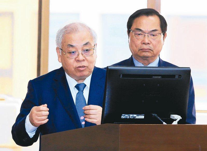 行政院主計長朱澤民 記者潘俊宏/攝影