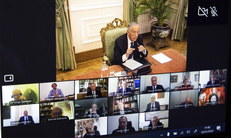 葡萄牙總統德索沙(Marcelo Rebelo deSousa)宣布全國進入緊急狀態。美聯社