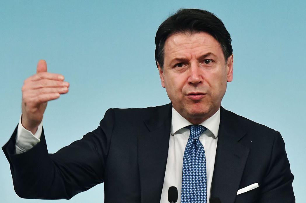 新冠肺炎疫情蔓延全球,重創歐洲,義大利總理孔蒂(GiuseppeConte)表示...