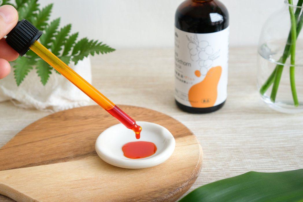 優森泰沙棘果油,一度熱銷斷貨。 優森泰/提供。